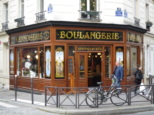 Boulangerie in the 14ème arrondissement , near métro Alésia