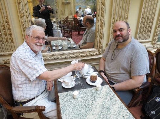 Me and Bertrand at Angelina's