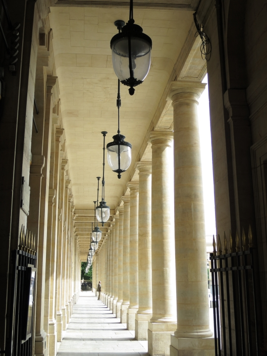 A gallery at the Palais Royal