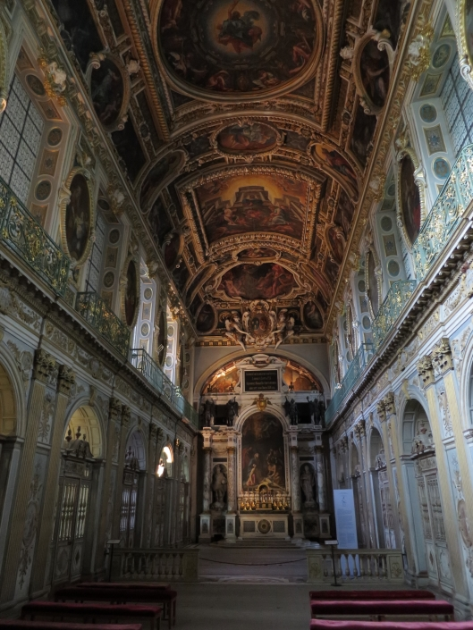 The chapel at Fontainebleau