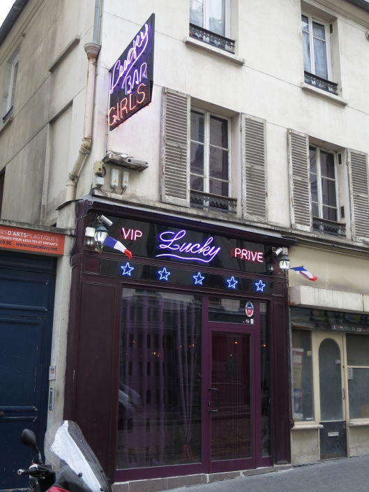 Sex club near Pigalle