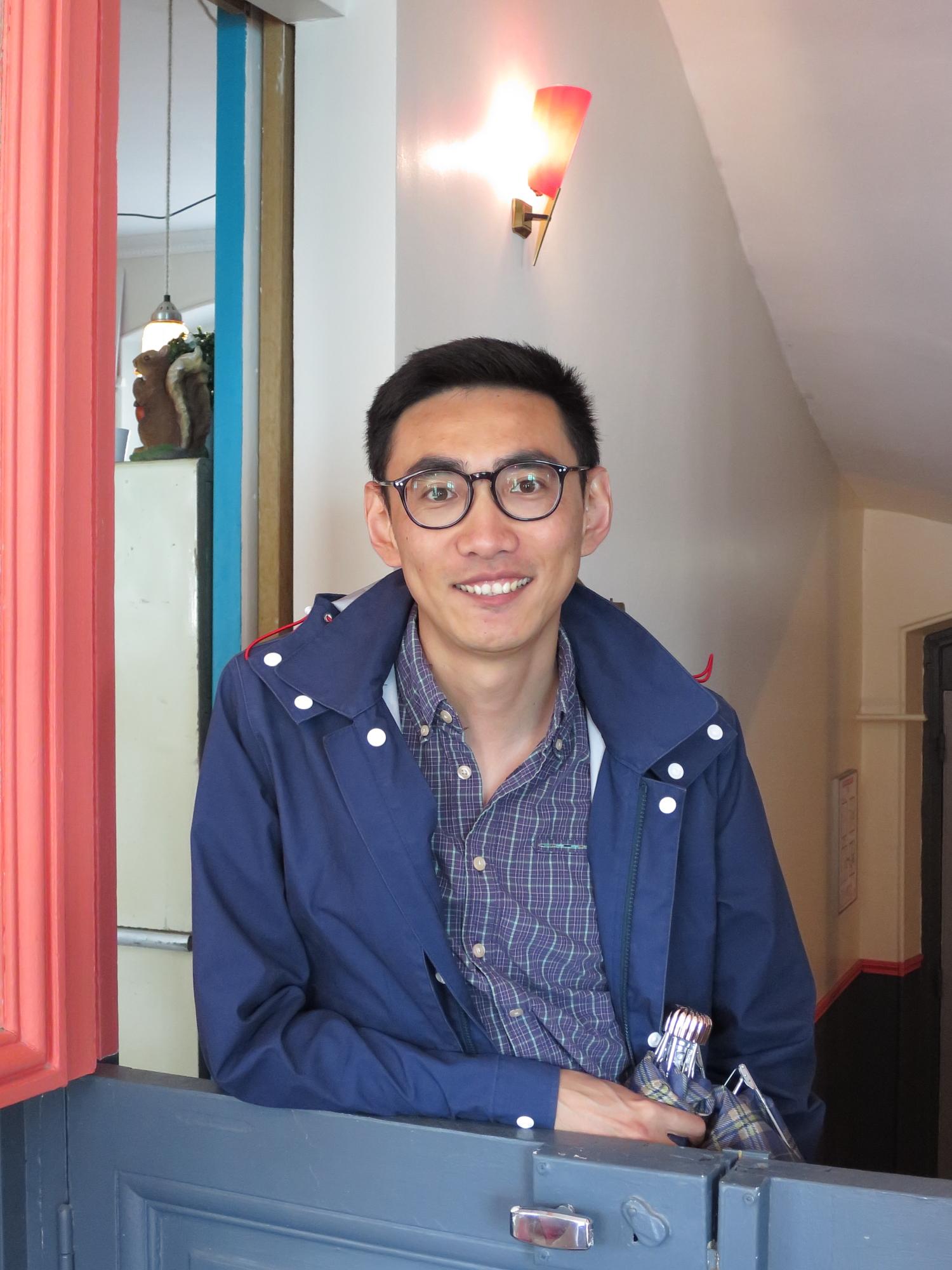 Kristoffer at Le Pavillon des Merveilles