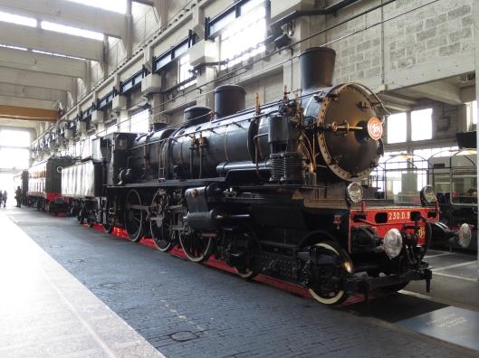 A big train at Le Grand Train