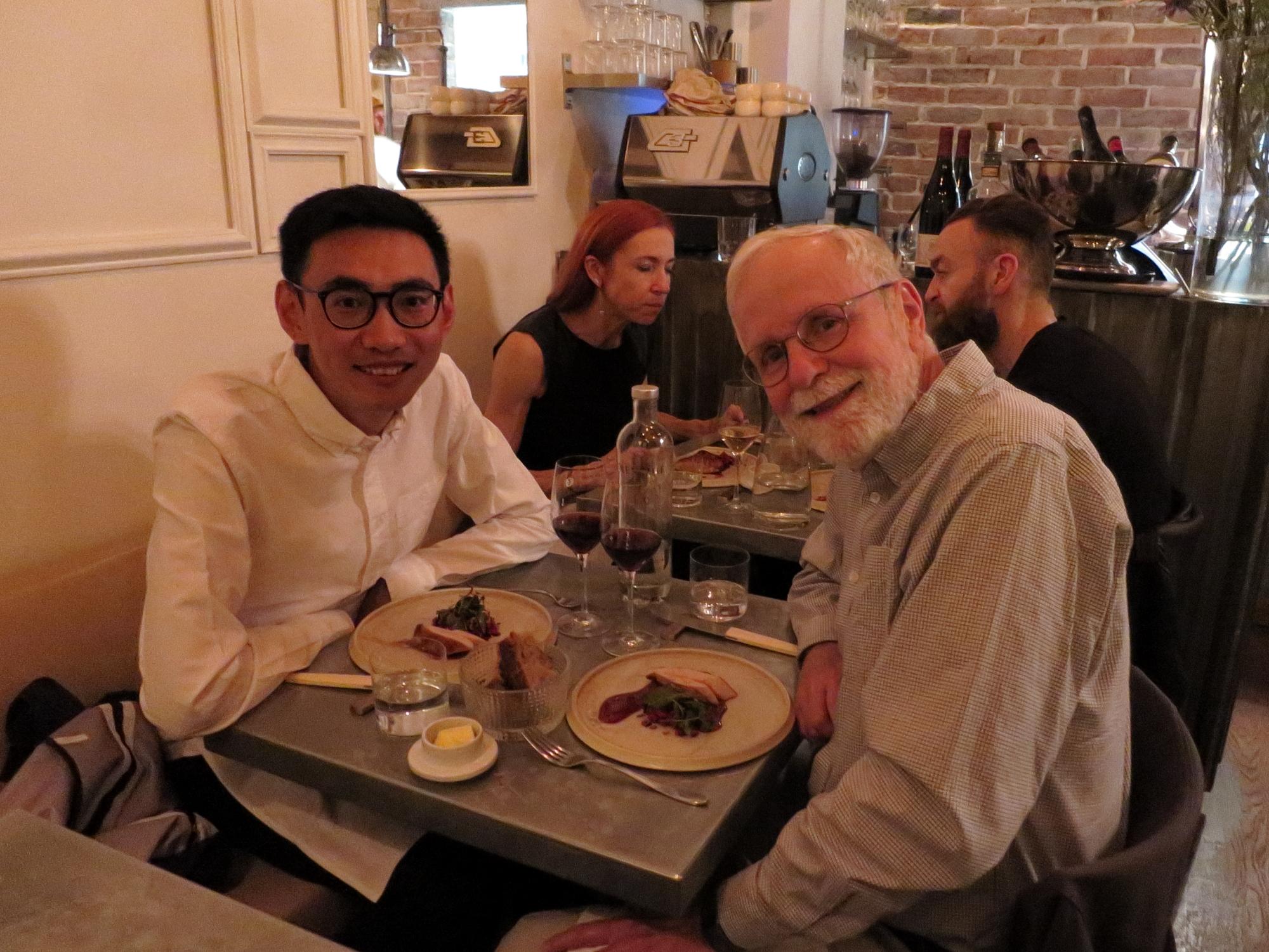 Kristoffer's birthday diner at Frenchie