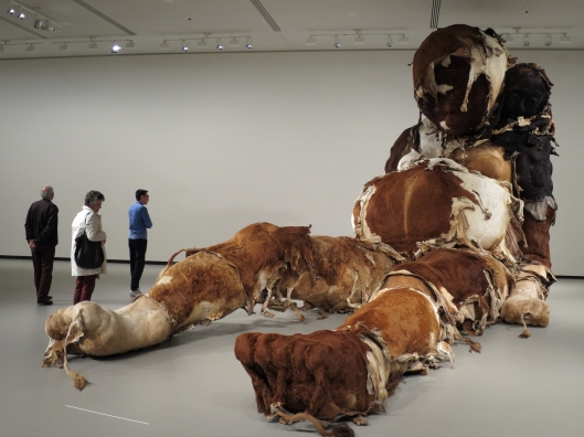 Zhang Huan, Giant No. 3, 2008, at Fondation Louis Vuitton