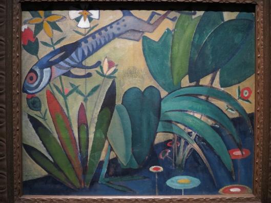 Le Saut du lapin, 1911, by Amadeo de Souza-Cardoso