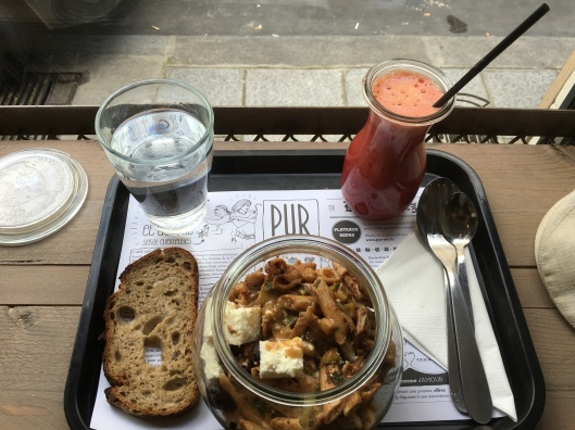 Lunch at Pur